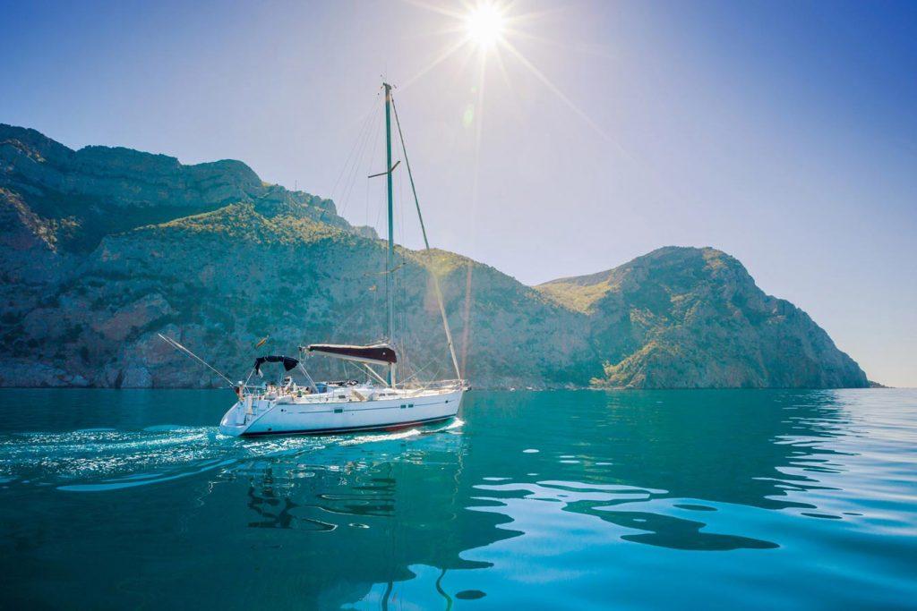 sail the ionian sea corfu yacht sailing hero 1 opt