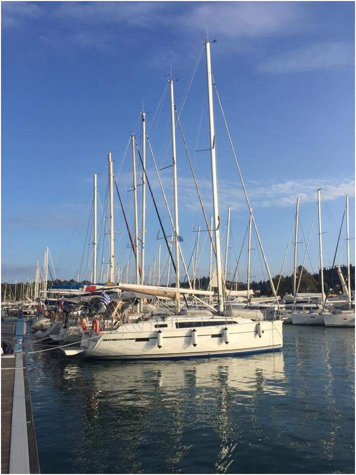 A Guide for sailing in corfu