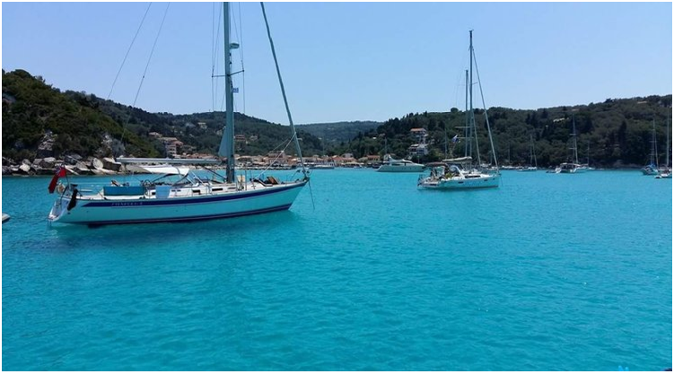 why sail in greece